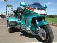 1995 Honda trike 1500GL Custome conversion trike.