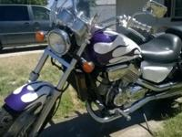 1995 Honda Magna 750, 45k miles, excellent running and