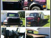 1995 International 4700 Rollback for Sale... 7.3 turbo