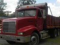 1995 International 9200 tandem dump truck 350 Cummins