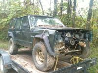 95 Jeep cherokee I'm parting out. Its pretty rough but