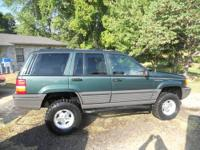 1995 ZJ 3 inch lift 31x10.50 tires. New Energy