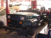 1995 Jeep Wrangler. This vehicle is being parted out.