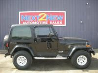 Options Included: This Is A Sweet Little 1995 Jeep