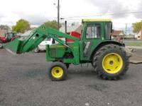 This is a nice JD 5300 Tractor, only 900hts. 56 hp on