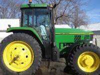 1995 JOHN DEERE 7700, Engine: 466, 1179 hours,
