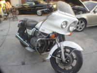 THIS A MACHANIC OWNED 1995 KAWASAKI POLICE BIKE 31,734