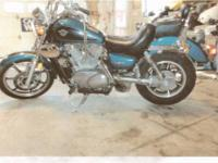 1995 Kawasaki Vulcan 1500 bought new in 1996 from the