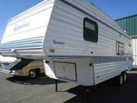 1995 Komfort 23RK Fifth Wheel Stock #18667 SALE PRICE: