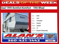 Used 1995 Komfort Fifth Wheel ... Value Priced 27 ft