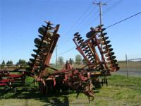 Harrows Chain Harrow. 1995 Krause 4991WR 31' Disk