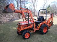 It has been serviced and maintained with only Kubota