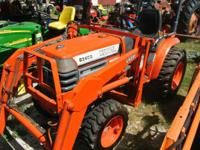 1995 Kubota B2400H 24HP Kubota B2400 with Hydrostatic