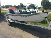 For sale 1995 Lowe Fishing boat  Nice clean boat, Make