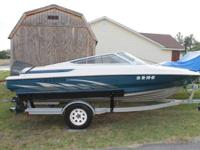 For Sale is my 1995 Maxum 1800 XR Bowrider boat with a