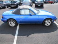 Have fun in the sun! 1995 Mazda MX-5 Miata Convertible.