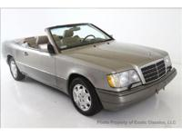 1995 MERCEDES E320 CABRIOLET Exotic classics is proud