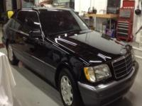 1995 Mercedes Benz S500 You are looking at an