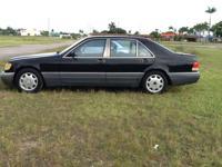 1995 Mercedes-Benz S320 sedan automatic $2450 Cash,