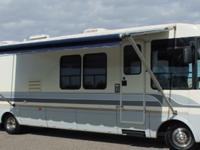 "THIS 33ft CLASS ""A"" MOTOR HOME HAS BEEN BABIED SINCE"