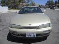 1995 NISSAN 240SX SE CLEAN TITLE AUTOMATIC 4 CYLINDER