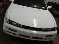 Clean 240sx with redtop Sr20det swap and kouki front