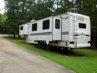 1995 Nu Wa Snowbird Legend 5th Wheel 37ft Snowbird