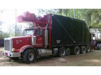 1995 Peterbilt 357, SELF-LOADER GRAPPLE TRUCK 62cy and