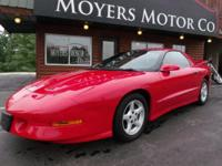 I am selling a 1995 Pontiac Formula Trans Am. This