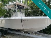 1995 Pro-line 2550 is a very strong offshore boat and