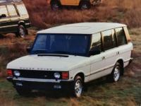 """1995 Range Rover """"County"""" - Black - $4500 66,000 Miles"""