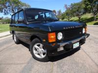 1995 Range Rover County SWB Classic Sport Utility