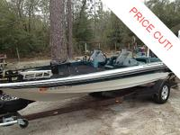This 1995 model Ranger 482 comes with a great deal of