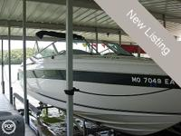 The lovely, high-performance, Regal 27 bowrider is