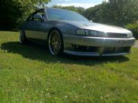 Sad to let her go but up forsale is my 240sx which has