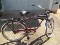 "1995 Anniversary Model. Fair condition. 26"" frame, all"