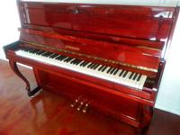 1995 Steinmann Piano.  Model: Studio Upright # 800009.