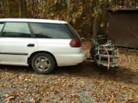 1995 Subaru Legacy station wagon; inspection good till