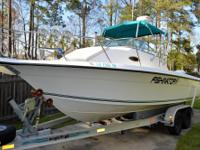 250 HP Evinrude -2001 with just 410 hours, Perfectly