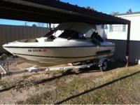 Selling our boat.. 1995 Sunbird $3400 obo  05 white