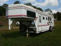 This is a 1995 Sundowner Horse Trailer 24 foot 4 horse