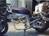 1995 Suzuki GSX-R rolling chassis for sale. Clean