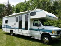 1995 FLEETWOOD TIOGA WALKABOUT MOTOR HOME 30FT VERY
