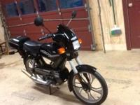 1995 Tomos Targa LX (Black) Moped - Bi-Turbo exhaust -