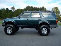 Options Included: LIFTED 1995 Toyota 4Runner SR5 4x4