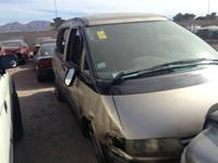 1995 Toyota Previa Engine, Transmission and