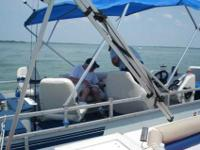 "1995-Tracker,""Fishing Barge 21"", total length 24' 6"" -"