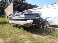 21 ft. great shape, includes trailer, with new