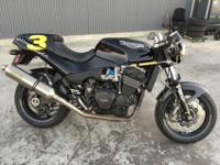 1995 Triumph Speed Triple. I believe it has been said