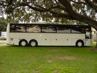 FOR SALE 1995 VANHOOL BUS 52 Passenger seating In